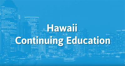 Continuing Education Credits Online For Hawaii Insurance