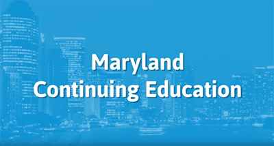 Maryland Insurance Continuing Education Online