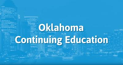 Oklahoma Insurance Ce Courses Online Einsurancetraining Com